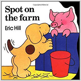 spot at the farm